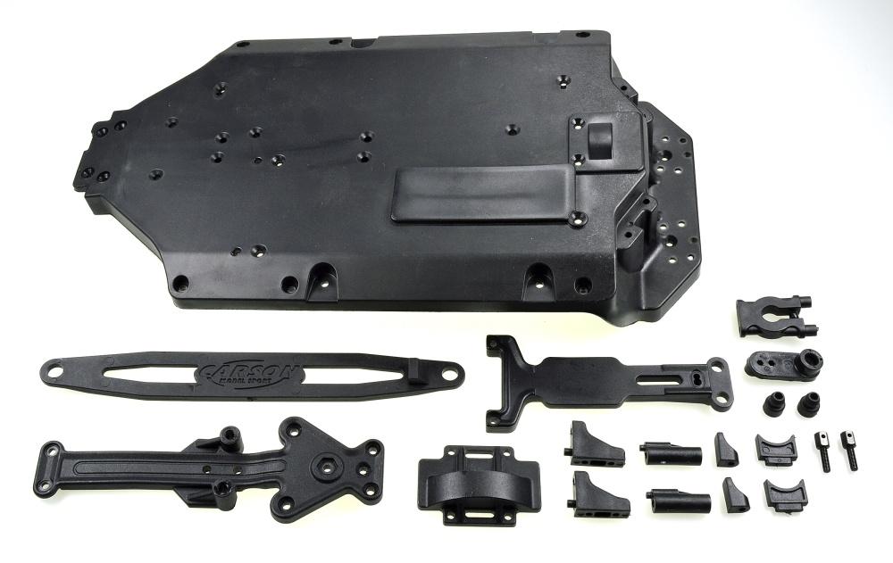Carson X10ET-XL Chassis Anbauteile Set
