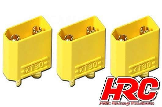 Auslauf HRC Racing Stecker - Gold - XT90 - männchen (3 Stk.)