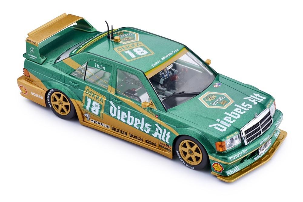 Slot.it Mercedes 190E DTM 1992 - Zolder / #18 - Kurt Thiim