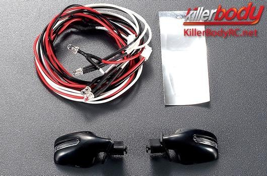 Killerbody Lichtset - 1:10 TC/Drift - Scale - LED - Spiegel