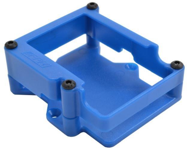 RPM Übergehäuse für TRX VXL-3 Regler blau Traxxas