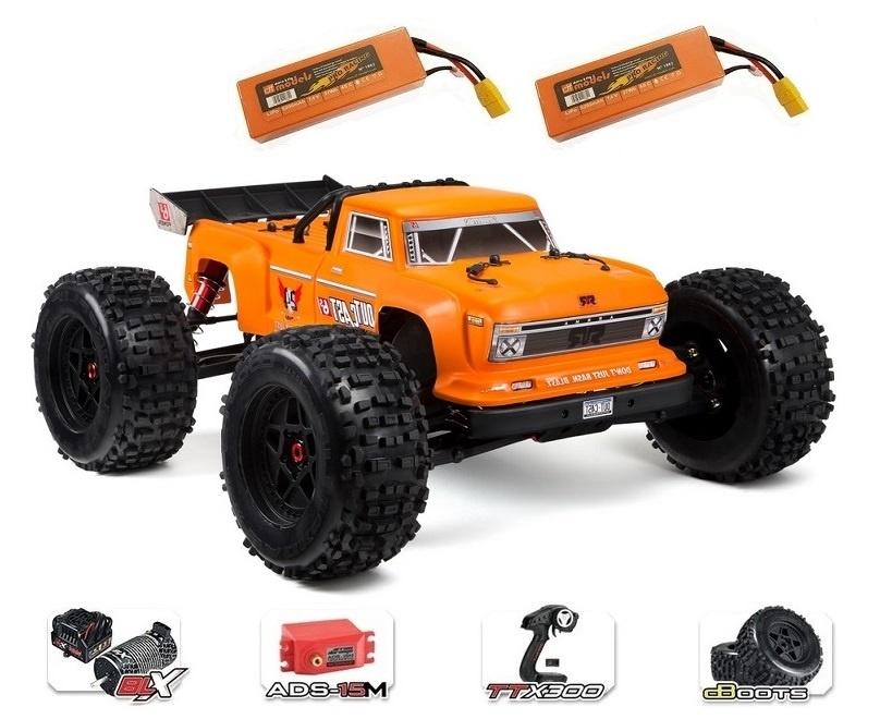 Arrma RC Outcast 6s BLX 4WDSt.Truck 2.4GHz RTR 1:8-SPARSET5-