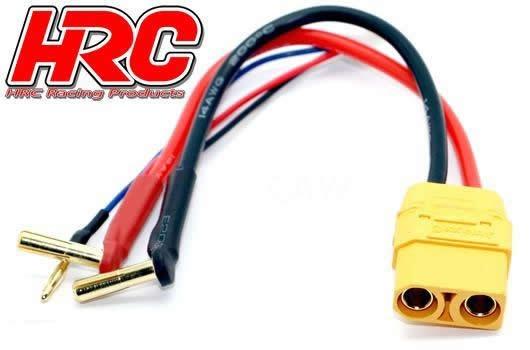 HRC Racing Fahr- und Ladekabel - 4mm Gold Stecker zu