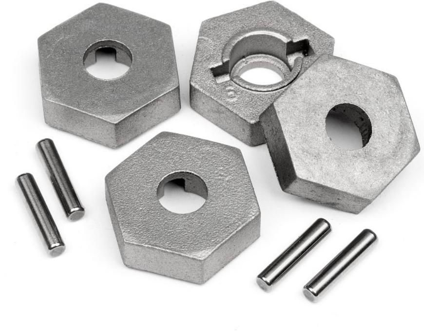 HPI Radmitnehmer und Pin Set 17mm Trophy Truggy