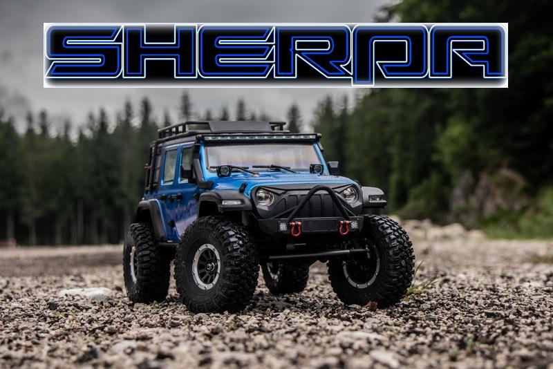 Absima 1:10 EP Crawler CR3.4 SHERPA RTR - blau