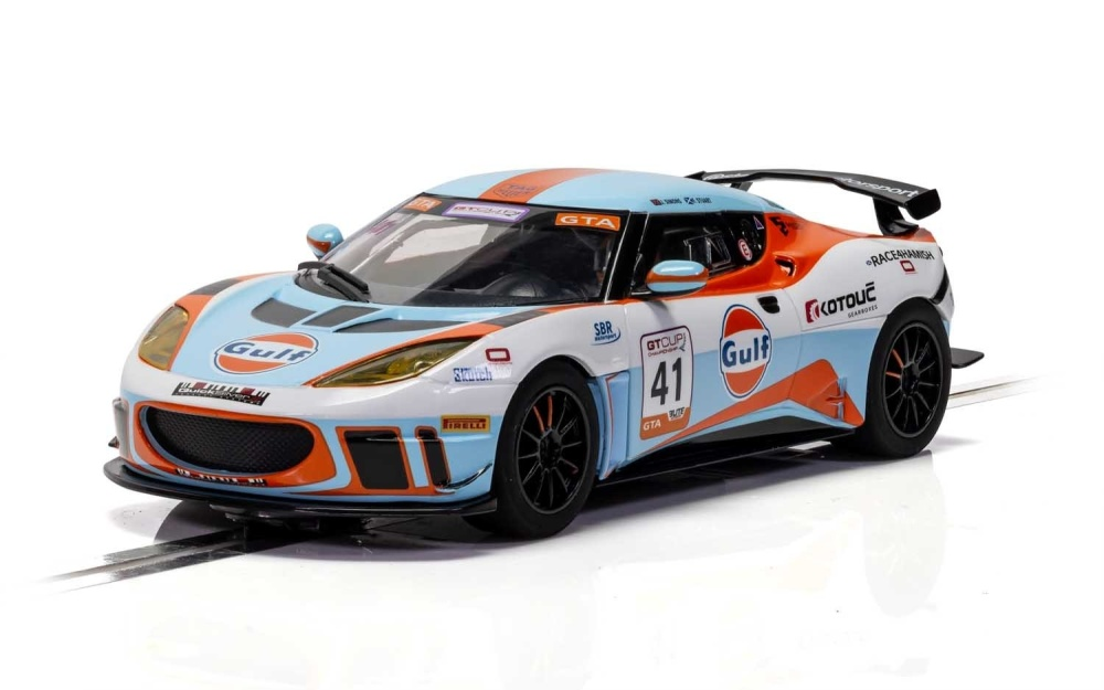 Scalextric 1:32 Lotus Evora - Gulf Edition HD