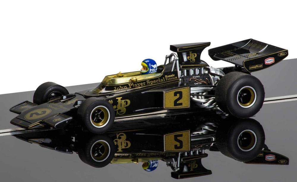 Scalextric Racing Legends -Team Lotus 72 Sw/Go
