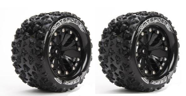 Louise RC MT-SPIDER MTruck Reifen 1:10-Fertig Verklebt-Soft