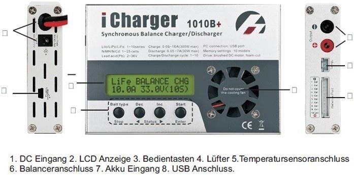 Junsi iCharger 1010B+