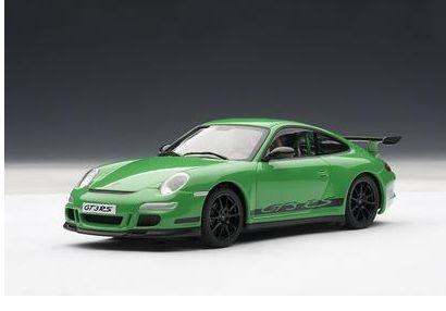 AutoArt Porsche 911 (997) GT3 RS grün