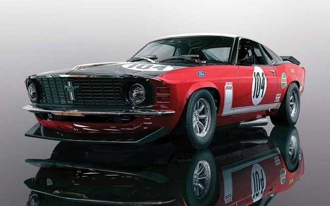 Scalextric 1:32 Ford Boss Mustang 1970 #104 HD