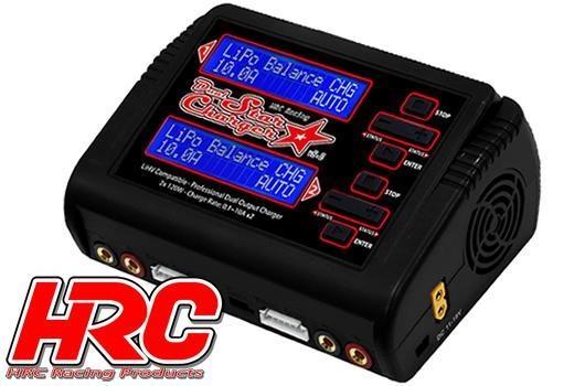 HRC Racing Ladegerät - 12/230V - HRC Dual-Star Charger V2.0