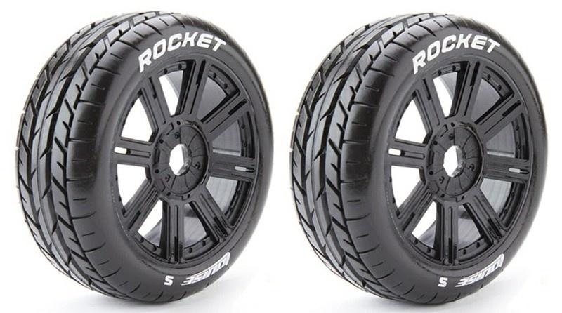 Louise RC - B-ROCKET - 1:8 Buggy Reifen - Fertig Verklebt