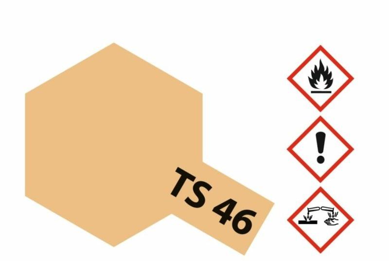 Tamiya Acryl-Sprühfarbe TS-46 Sand Hell matt 100ml