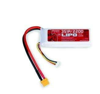 Graupner Power Pack LiPo 3S / 2200 mAh, 11,1 V, 70 C, XT-60