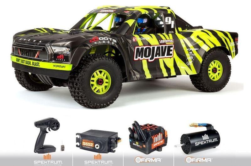 Arrma 1/7 MOJAVE 6S V2 4WD BLX Desert Truck
