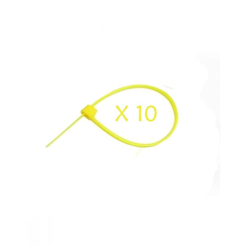 Flexytub Kabelbinder 3mmx100mm Gelb (10 Stück)