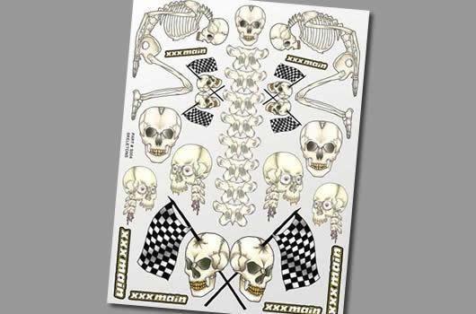 XXX Main Aufkleber - Skeletons