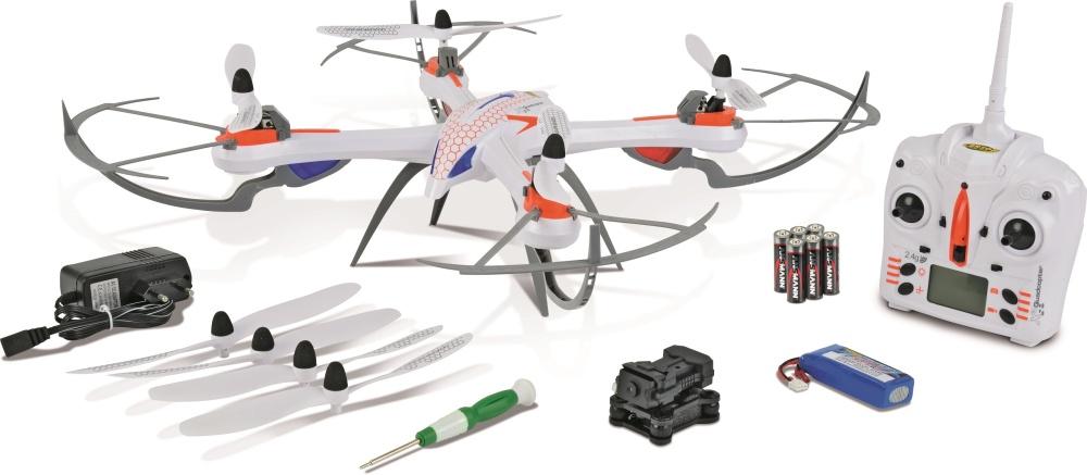 Carson X4 Quadcopter 550 Spy 2.4GHz RTF