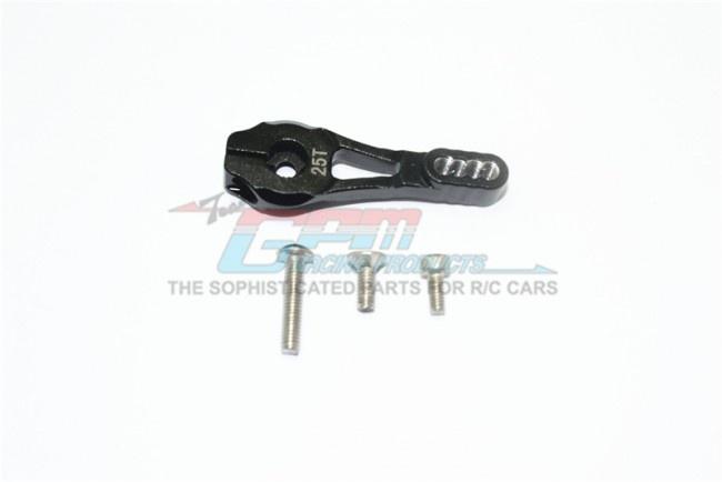GPM aluminum servo horn 25T (4 positioning holes) - 4PC Set