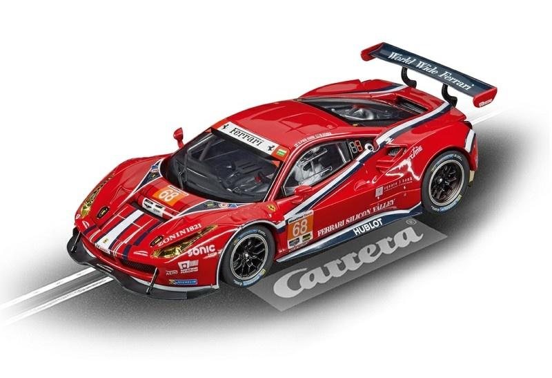 Carrera Digital 132 Ferrari 488 GT3 Scuderia Corsa No.68