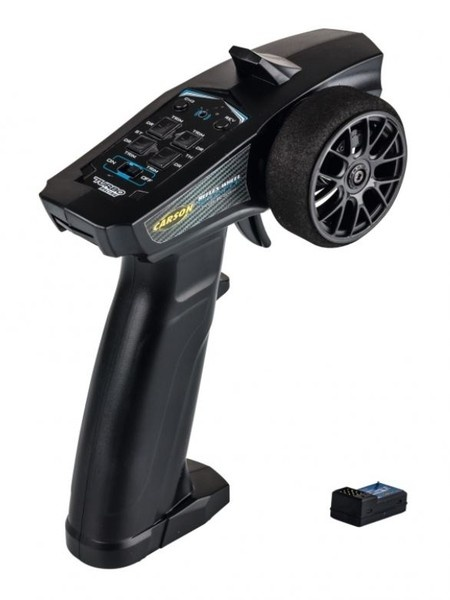 Carson Reflex Wheel Start 2.4GHz Radio schwarz