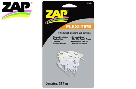 Zap Kleber - Flexi Tips Spitzen - 24 Tips