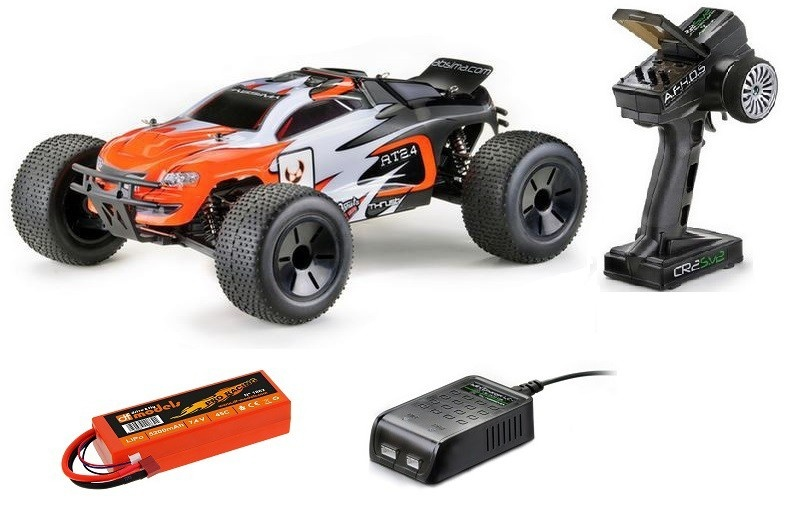 Absima EP 4WD BL Truggy AT2.4BL RTR 1:10 --SPARSET--