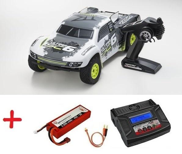 Kyosho Ultima SC6 2WD SCTruck Readyset(DDRIVE 3300KV-KT331P)