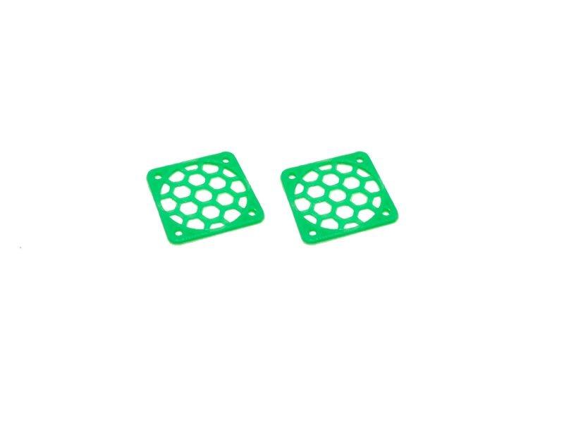 JS-Parts Lüftergitter 25mm / 2 Stück (Set) grün