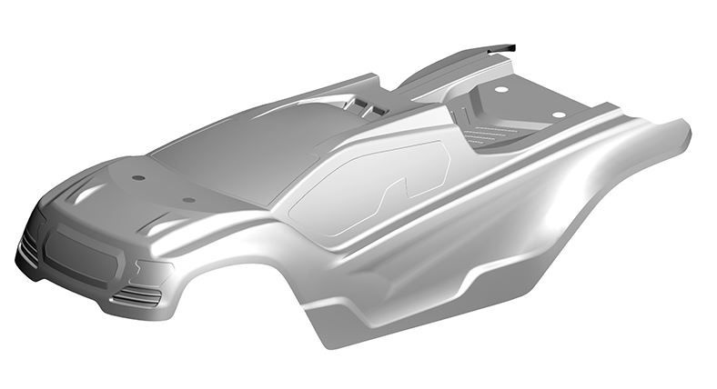 Team Corally - Polycarbonate Body - Muraco XP 6S - Clear