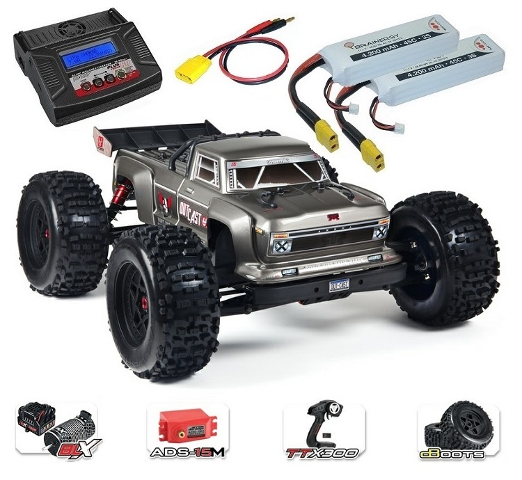 Arrma RC Outcast 6s BLX 4WDSt.Truck 2.4GHz RTR 1:8-SPARSET4-