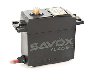 Savöx Standardservo SC-0251MG