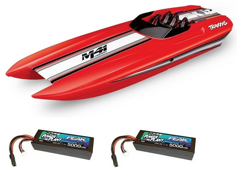 Traxxas DCB M41 40Catamaran BL Power-Boot TSM 2.4GHz RTR