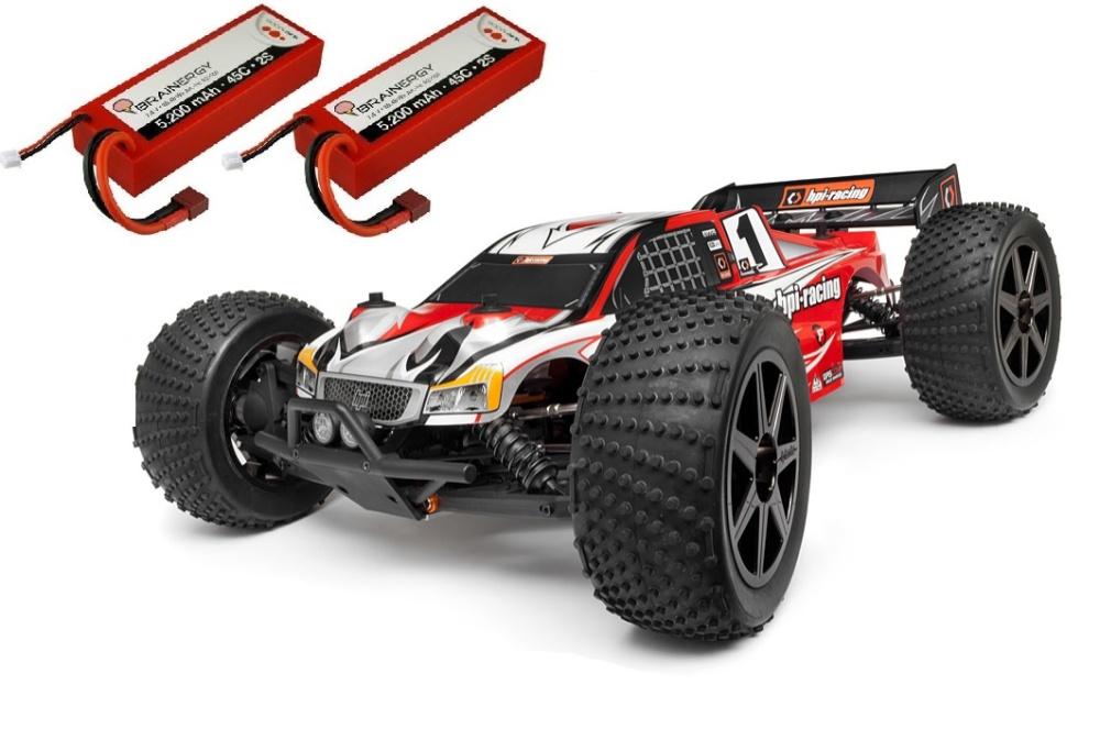 HPI Trophy 4WD ElektroTruggy Flux 2.4GHz RTR 1:8 -SPARSET 1-