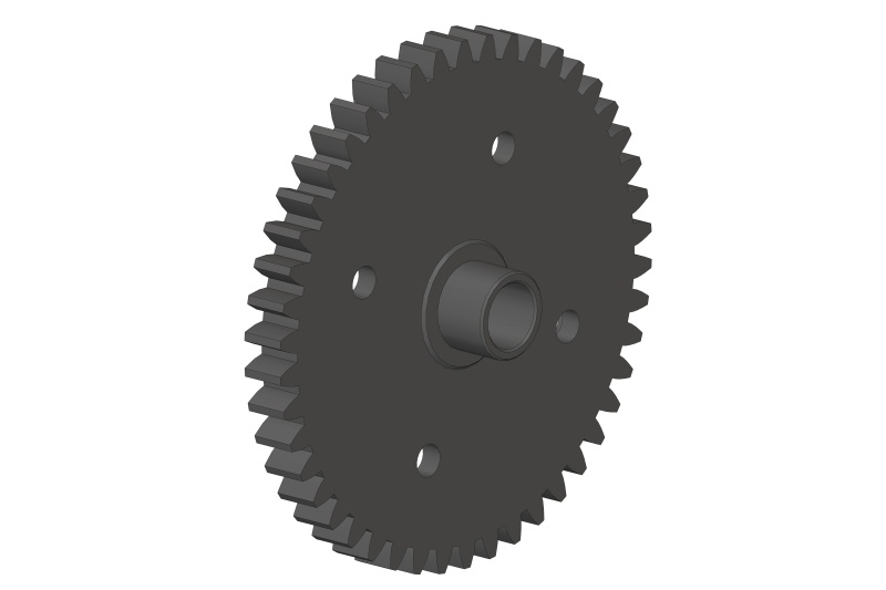 Team Corally Spur Gear 46T - Steel - 1 pc