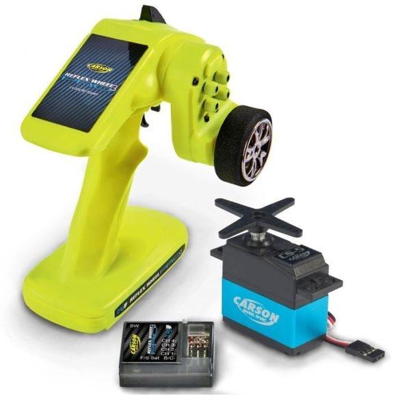 Auslauf - Carson RC Reflex Wheel PRO 3 2.4G + CS5 Servo