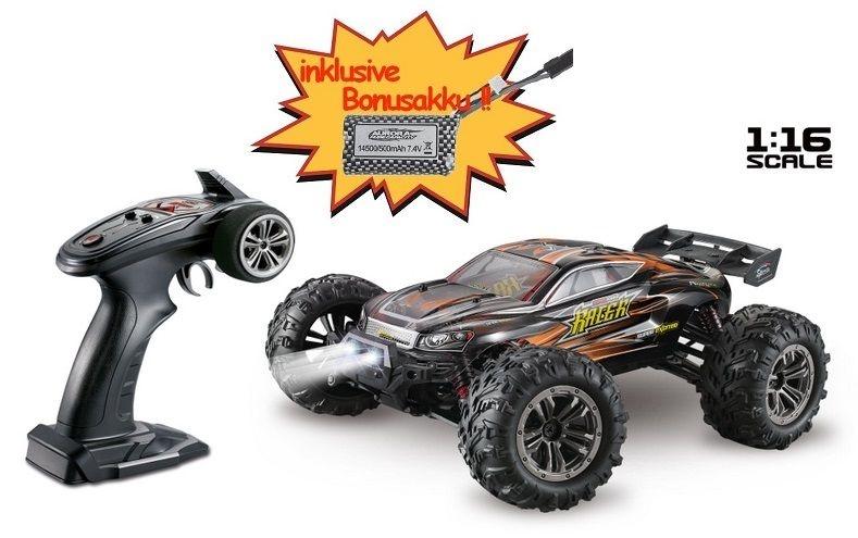 Absima High Speed Truggy RACER schwarz/orange