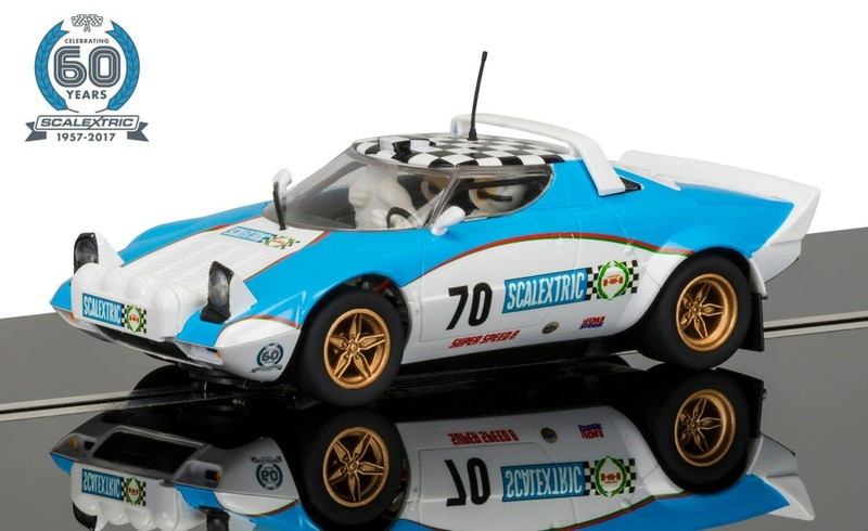 Scalextric 60 J. Collection Car No.5 - 1970s Lancia Stratos