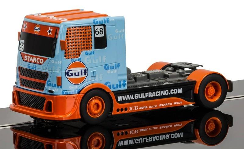 Scalextric Team Truck Gulf Racing #68 SRR