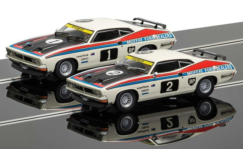 Scalextric XB Falcon Touring-Cars Legends Set