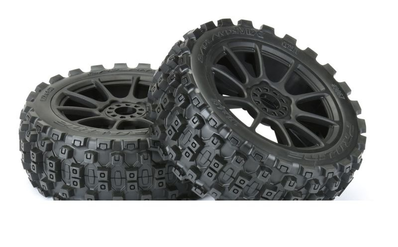 ProLine Badlands MX M2 (medium) auf Felge Mach10 schwarz v/h