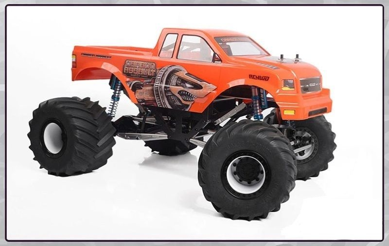 RC4WD Carbon Assault Monster Truck