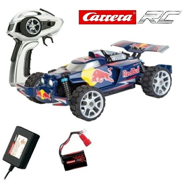 Carrera RC Profi Red Bull NX2 4WD Buggy 2.4GHz RTR 1:18