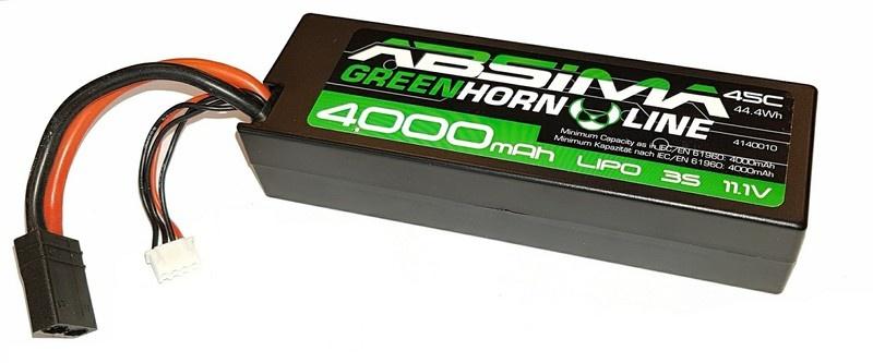 Absima LiPo Stick Pack 11.1V-45C 4000 Hardcase (TRX)