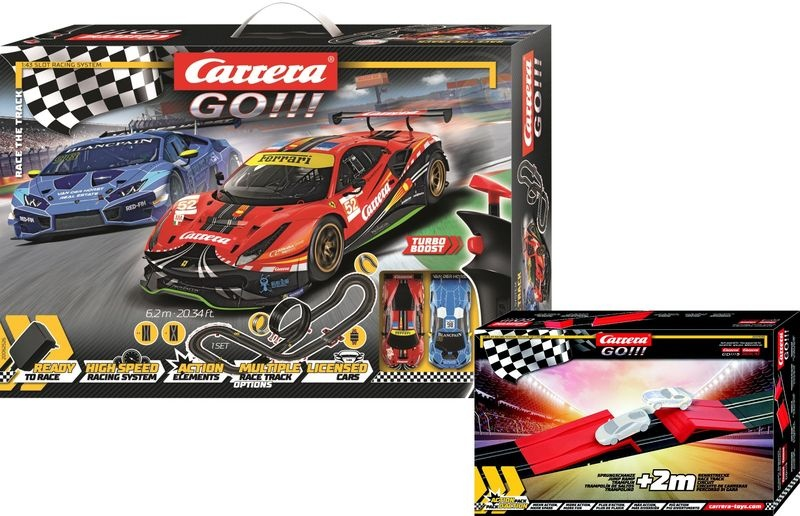Carrera Go!!! Race the Track Sonderedition 6,2m +2m Bonus