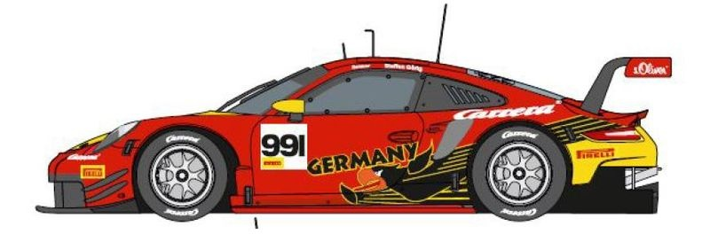 Carrera Digital 124 Porsche 911 RSR No.991