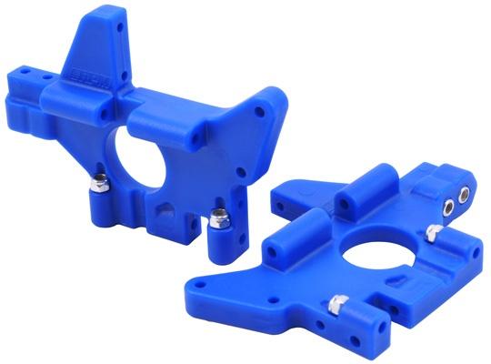 RPM  Rear Bulkheads blau Traxxas T/E-Maxx (all versions)
