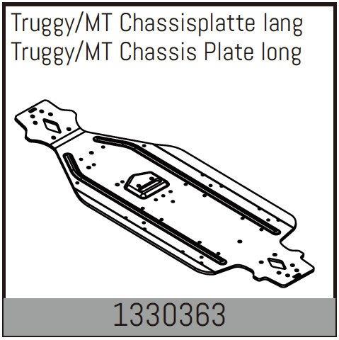 Absima Truggy/MT Chassisplatte lang