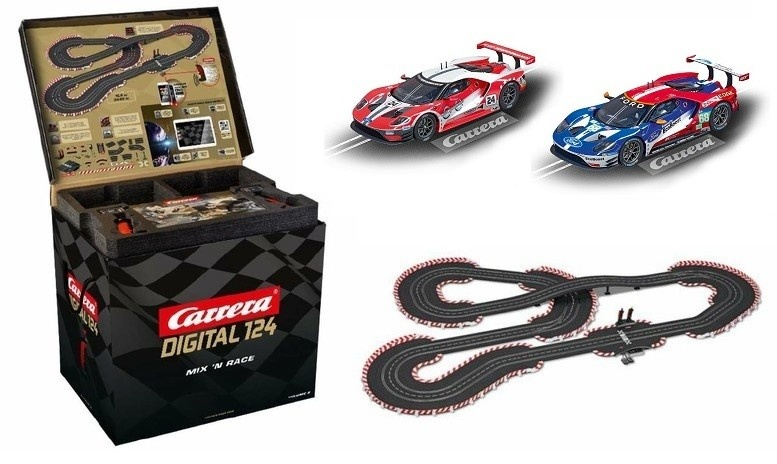 Carrera Dig. 124 Mix n Race Volume 2 Ford GT Cars